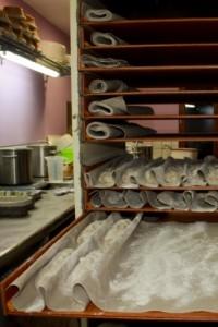 fabrication des pains bio: Apprêt