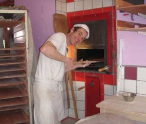 fabrication des pains bio: Enfournement