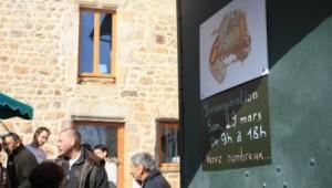 Actu aux6levains boulangerie Loire Saint Etienne Entrée inauguration