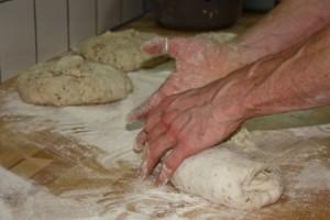 fabrication des pains bio: Façonnage
