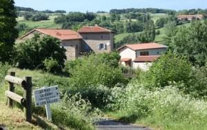 historique de la boulangerie aux 6 levains: Maison Le Mas - écriteau 6 levains 03-03-14